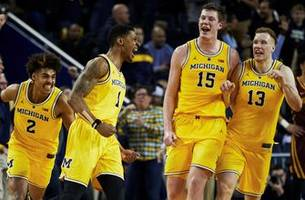 No. 5 Michigan avoids second straight loss thanks to Charles Matthews' buzzer beater