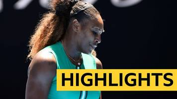 Highlights: Serena Williams knocked out of Australian Open by Karolina Pliskova after holding match points