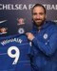 Chelsea announce Gonzalo Higuain squad number, fans express WORRY about 'curse'
