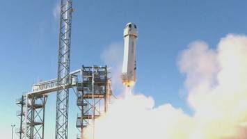 Blue Origin's New Shepard Spacecraft Successfully Launches NASA Experiments
