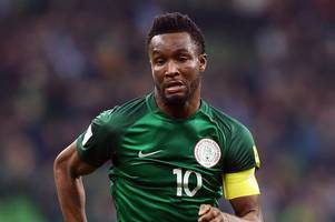 championship club 'set to beat' derby county to signing of former chelsea midfielder john obi mikel