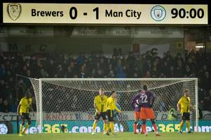 nigel clough on burton albion matching manchester city and a post-match surprise for pep guardiola