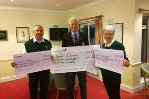 golfers driving to great success with charity donations in 2018