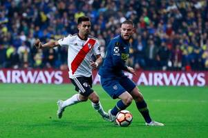 leicester city linked with boca juniors midfielder
