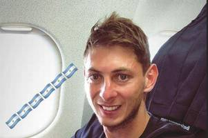 emiliano sala refers to plane 'which seems to be falling apart' in messages before aircraft disappearance