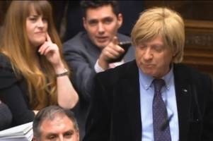 'it's a wig' - staffordshire mp michael fabricant mocked by fellow tory in the house of commons
