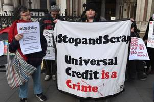 Thousands on Universal Credit are 'victims of unlawful discrimination', High Court told