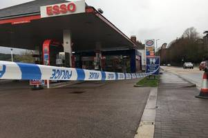police update on exeter garage stabbing as victim recovers