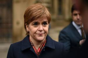 brexit barb as nicola sturgeon urges theresa may to 'stop blaming others' for mess