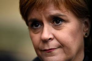 nicola sturgeon says theresa may shows no sign of compromise in brexit talks