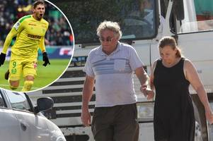 Emiliano Sala's dad gives emotional TV interview as he says 'there are no words to explain what we are living'