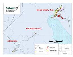 galway metals: new gold discovery at clarence stream and strong gmz drill results