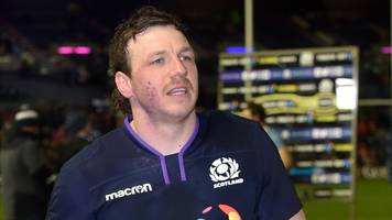 Scotland's Watson to miss Six Nations with fractured hand