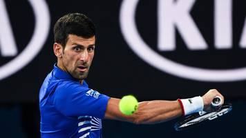 djokovic claims last semifinal spot after nishikori retires with injury
