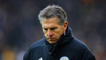 former leicester striker tony cottee tips foxes manager claude puel to leave in the summer