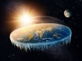 the lunar eclipse according to flat earthers:  was caused by an unseen 'shadow object'