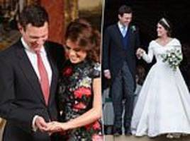 princess eugenie posts a touching tribute to husband jack brooksbank on engagement anniversary