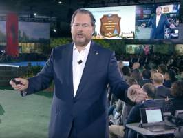 salesforce ceo marc benioff calls artificial intelligence a 'new human right' (crm)