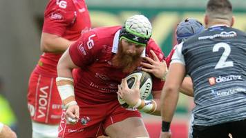 ball boost for scarlets' leinster trip