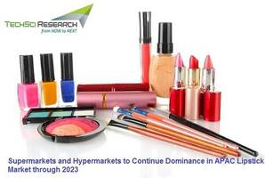 supermarkets and hypermarkets to continue dominance in apac lipstick market through 2023: techsci research