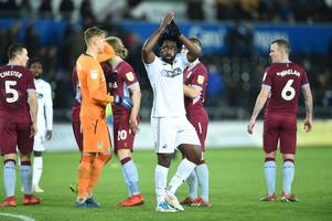 wilfried bony's representative drops big hint over striker's swansea city future amid galatasarary speculation