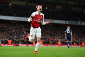 what man united legend ryan giggs has said about aaron ramsey that will upset arsenal fans