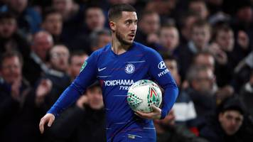 'i don't care' - hazard shrugs off sarri criticism after chelsea reach final
