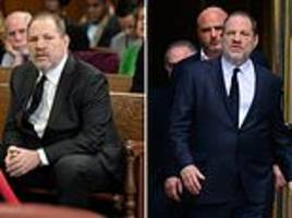 harvey weinstein appears in court as judge approves request for new defense team