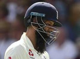 moeen ali could sense an england collapse was coming as west indies attack excelled