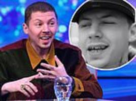professor green shows off shocking transformation