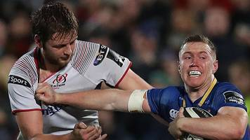 european champions cup: leinster v ulster game at aviva stadium on 30 march