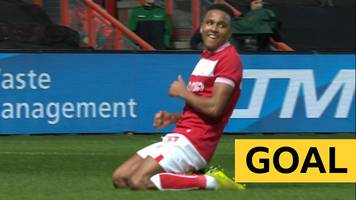 fa cup: niclas eliasson's curling strike puts bristol city 2-1 up against bolton wanderers