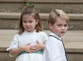 princess charlotte will join older brother george at £6,000-a-term school in battersea in september
