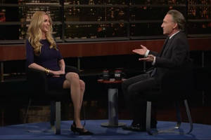 bill maher and ann coulter shout about trump's wall – and over one another – on 'real time'