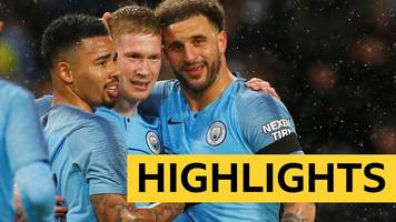 fa cup: manchester city 5-0 burnley highlights