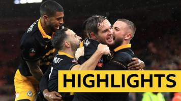 fa cup: middlesbrough 1-1 newport county highlights