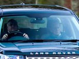 prince philip to learn fate over car crash in sandringham within the next fortnight