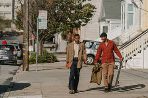'the last black man in san francisco' film review: stirring debut explores male friendship and gentrification