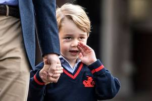 prince george leaves dog walker stunned by revealing his nickname while out with carole middleton