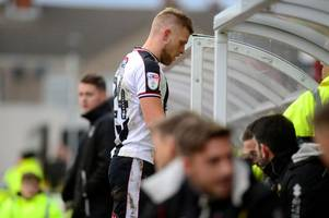 did harry davis deserve his red card in grimsby town's win over mk dons?