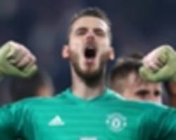 'we should be fighting for the title' - de gea not satisfied with man utd winning run