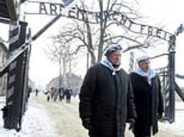 auschwitz survivors pay homage as world marks international holocaust remembrance day