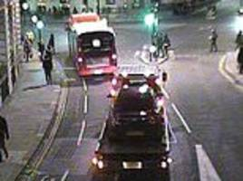 uber driver fined after broken-down car was taken into bus lane on a tow truck