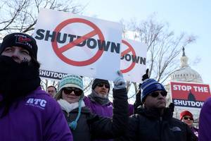 the government shutdown cost the us billions of dollars, cbo says