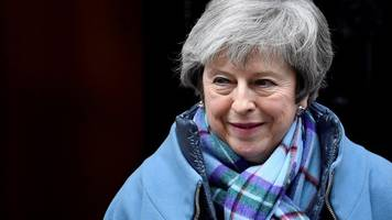 brexit amendments: a good day for may?