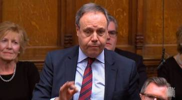 dup react angrily to claim brexit vote 'ripped up good friday agreement'