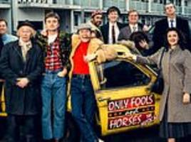 only fools and horses: the musical: del boy, rodney and grandad assemble at nelson mandela house