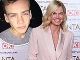zoe ball's son woody, 18, reveals he's bisexual and admits radio presenter mum was confused