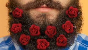 website offers 'beard bouquets' for valentine's day