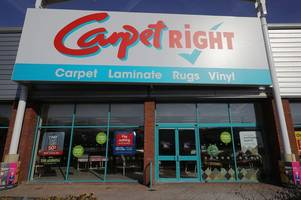 cheltenham's carpetright is relocating - and it's going to have an outlet section